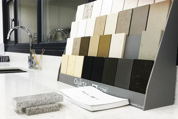 Stone Range Worktops Showroom