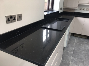 Nero Stellar Kitchen Worktops